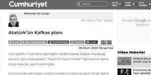 Atatürk'ün Kafkas planı ve her taşın altındaki ABD!