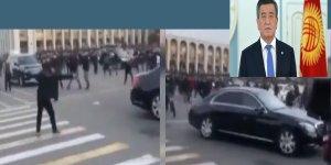 Kırgızistan'ın eski cumhurbaşkanının aracına silahlı saldırı düzenlendi