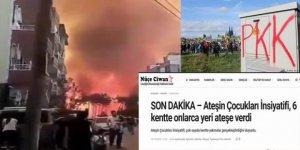 Hatay Yangını PKK'nın işi mi?