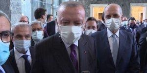 Cumhurbaşkanı Erdoğan'dan 'ışıklar' açıklaması