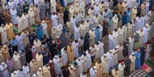 Fas'ta 7 ay aradan sonra ilk cuma namazı kılındı