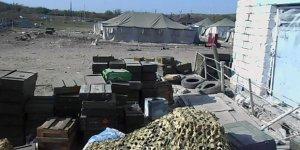 Fuzuli'de ele geçirilen askeri araç ve silahların görüntüleri yayımlandı
