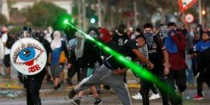 Şili'de göstericiler ile polis çatıştı