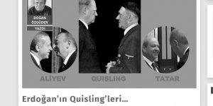 """""""Gerçeküstü"""" yazarından Erdoğan'a Hitler iması!"""
