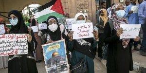 Sudan'da Siyonist İsrail ile normalleşme protesto edildi