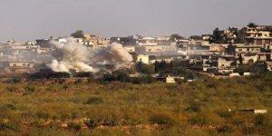 Katil Esed rejimi patronu Rusya'nın izinde: İdlib'de sivilleri bombaladılar!
