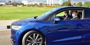 KKTC'nin ilk yerli otomobili test edildi