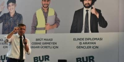 Ahmet Davutoğlu Gelecek Partisi'nin 1. Olağan Kongresinde konuştu
