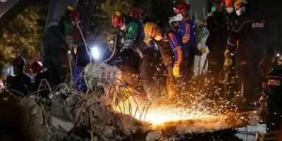 İzmir'deki depremde can kaybı 113'e yükseldi