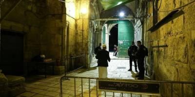 Siyonist İsrail 2 bin Filistinlinin Mescid-i Aksa'ya girişine izin vermedi