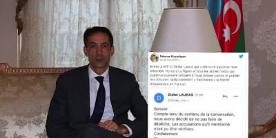 Azerbaycan'ın Paris Büyükelçisinden AFP'ye tepki