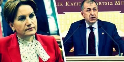 Meral Akşener'den Ümit Özdağ'a tepki