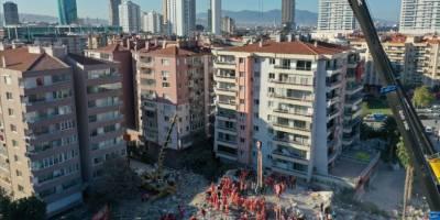 İzmir'deki depremde can kaybı 116'ya yükseldi