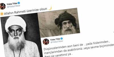 Yıldız Tilbe'den Şeyh Said ve Seyid Rıza paylaşımı