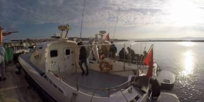 Yunanistan'ın Balıkesir açıklarına ittiği 27 sığınmacı kurtarıldı