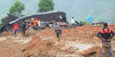 Endonezya'yı heyelan vurdu: 5 ölü