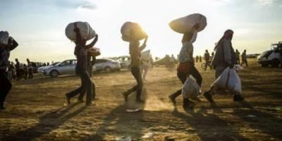 Etiyopya'dan Sudan'a kaçan sığınmacıların sayısı 36 bini aştı