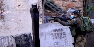 Siyonist İsrail güçleri Batı Şeria'da bir Filistinliyi yaraladı