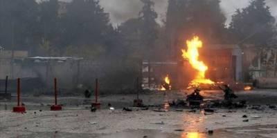 Rasulayn'da kontrol noktasında bombalı araçla saldırı