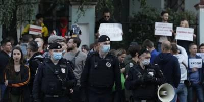 Belarus'taki protesto eylemlerinde 250'ye yakın kişi gözaltına alındı