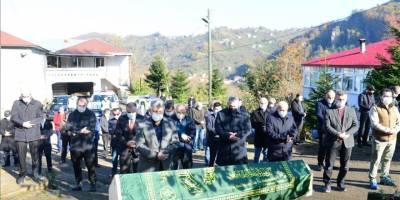 Necip Kibar'ın cenazesi Giresun'da toprağa verildi