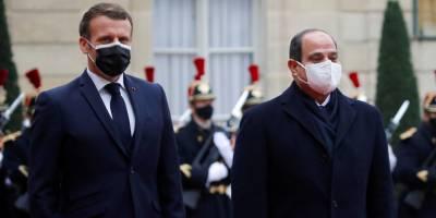 """Macron: """"İnsan hakları ihlalleri sebebiyle Mısır'a silah satmaktan vazgeçmeyiz"""""""