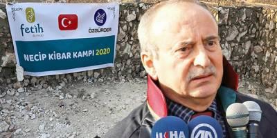 İdlib bölgesinde 'Necip Kibar Kampı' inşa edilecek