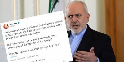 İran Dışişleri Bakanı Cevad Zarif'ten hazımsız söylemler