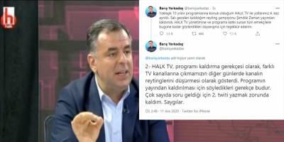 CHP'deki taciz iddiaları nedeniyle mi program sonlandırıldı?