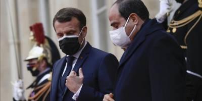 Independent: Macron, Fransız silah endüstrisinin sadık müşterisi Sisi'yi ödüllendirdi