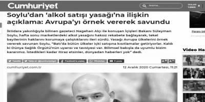 Kemalistlerinyeni muhalefet bayrağı: Hafta sonu içki satışı kısıtlaması