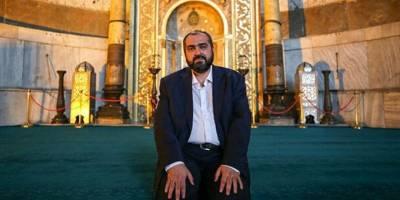 Ayasofya'nın imamından haklı destek