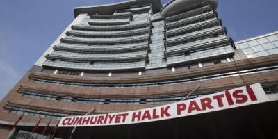 CHP'de 'taciz iddiası' kararı