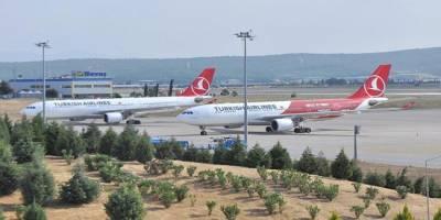 Türkiye'ye gelen THY uçaklarındaki yolcuların negatif PCR testini ibraz etmesi gerekiyor
