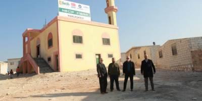 Av. Necip Kibar'ın adının verildiği yerleşke inşaatı hızla sürüyor