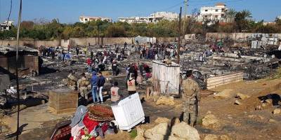 Lübnan'da mülteci kampının yakılmasıyla ilgili çok sayıda kişi gözaltına alındı