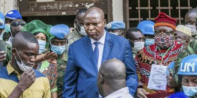Orta Afrika Cumhuriyeti'nde cumhurbaşkanı seçiminin galibi Touadera oldu