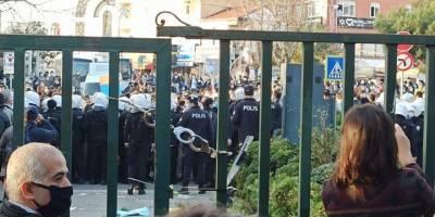 Boğaziçi Üniversitesi önündeki gösterilere ilişkin yeni gözaltılar