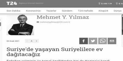 Mülteciler için inşa edilen evlerden şikâyetçi olan Mehmet Yılmaz vicdanı(!)