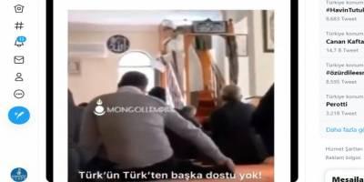 Kıblesini şaşırmış din görevlisi hutbede ırkçı sözler sarf etti!