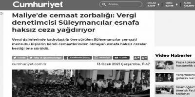 Mesnetsiz haberciliğin Türkiye temsilcisi: Cumhuriyet!