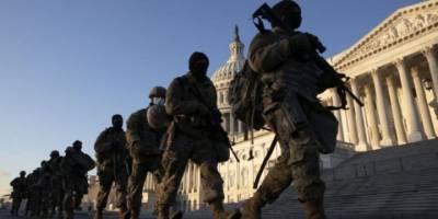 ABD'de binlerce Ulusal Muhafız Kongre binasında nöbet tutuyor
