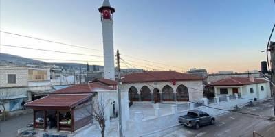 Afrin'deki Ömer Bin Hattab Camii ve Nebi Huri Türbesi restore edildi