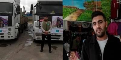Suriyeli kardeşlerimize kışlık yardımlar sürüyor