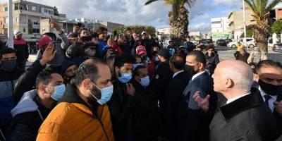 Tunus Cumhurbaşkanından protestoculara çağrı