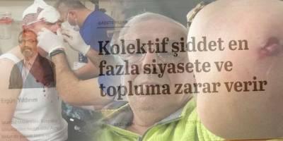 'Türkiye yeniden ideolojik şiddetin kısır döngüsü içinde kendisini yemeye başlamadan…'