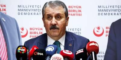 BBPGenel Başkanı Destici, siyasetçi ve gazetecilere yapılan saldırıyı lanetledi