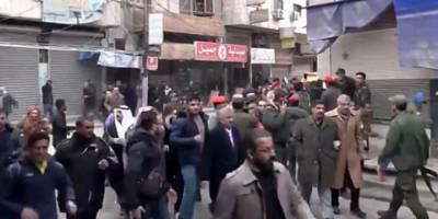 PKK Haseke'de gösteri yapan sivilleri silahla dağıttı