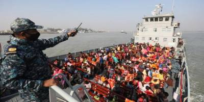 Arakanlı Müslümanların Bhasan Char Adası'na nakli uluslararası tepkilere rağmen sürüyor