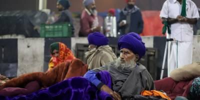 Hindistan'da çiftçiler açlık grevi başlattı